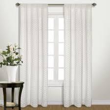 Wayfair Com Curtains Let This Sheer Quatrefoil Burnout Curtain Frame A Picture Window