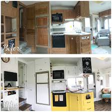 Rv Renovation Ideas by Before And After Fifth Wheel Renovation U2013 188sqft