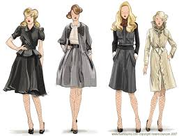 fashion sketches gown dress latest fashion style
