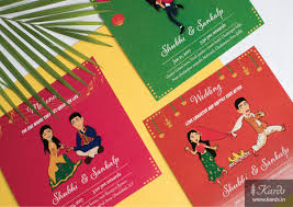 Wedding Invitation Cards Buy Online Quirky Bride Indian Wedding Invitation Card Weddin Card
