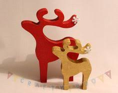 rudolph and santas sleigh free standing ornament kit for christmas