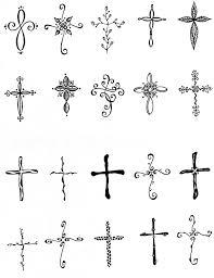 smallcross small cross tattooscross tattoos tattoobite