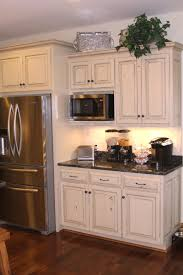 cabinets u0026 drawer cream floor distressed white kitchen cabinets
