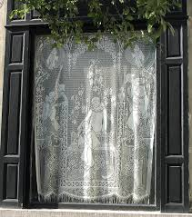 Hanging Lace Curtains Brussels Window Brussels Window And Belgium