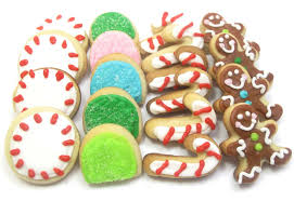 christmas cookies and candies christmas lights decoration