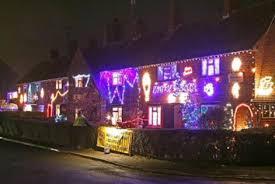 outdoor christmas lights display video