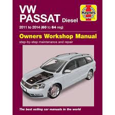 vw passat diesel b7 1 6 2 0 diesel 2011 14 haynes workshop manual