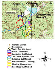 philmont scout ranch map emnrd forestry division