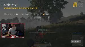 pubg 50 kills pyroelementalist just got 30 kills in a squad game pubattlegrounds