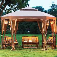 Backyard Gazebos Canopies by Gazebo Replacement Canopy Top And Replacement Tops Garden Winds