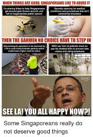 Abuse Memes - when things are good singaporeans like to abuse it co sharing bikes