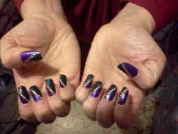 mardi gras nail previous nail s dabblings