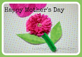 mother u0027s day craft crepe paper flower artsy craftsy mom