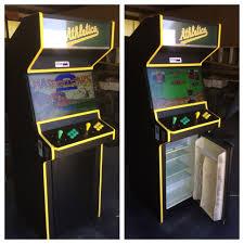 custom order arcade machine with mini fridge album on imgur