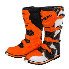 motocross boots oneal rider eu motocross boots orange off road racing mx pb