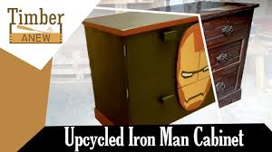 Upcycled Filing Cabinet Iron Man Cabinet Upcycled From Chest Of Drawers Upcycling
