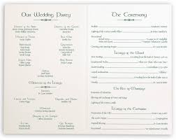 wedding day programs celtic and wispy shamrock wedding programs and church