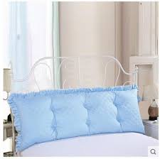 big bed pillows lhl standard pillows triangle bedside big cushion upholstered waist