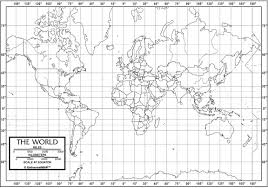Blank North America Map by World Outline Map Classroom Desk Map Set Of 50