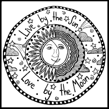 live by the sun love by the moon peace love hippy stoner