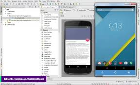 create scrolling coordinator layout with android studio youtube