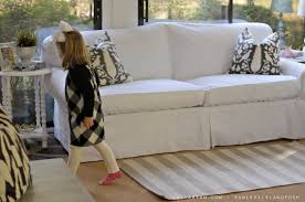 Slipcovers From Drop Cloths Diy Sofa Slipcover Ideas 13852