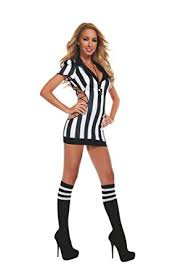 referee costume starline women s cut out referee costume set with