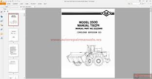 o u0026k trojan 2500 tb074 parts book auto repair manual forum