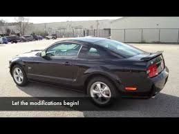 Black 2007 Mustang 2007 Black Mustang Gt Modifications Part 1 Youtube