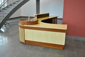 Custom Reception Desk Atlanta Custom Reception Desk Design U2014 Atlanta Custom Furniture