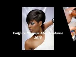 coiffure mariage africaine coiffure mariage afro tendance 2015