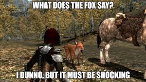 What Did The Fox Say Meme - what does the fox say meme by secretsigil on deviantart