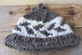 cowichan hat cowichan wool toque hat beanie vintage authentic knit