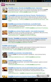 logiciel recette cuisine gratuit télécharger mes recettes pour android téléchargement gratuit