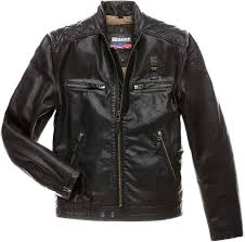 buy biker jacket blauer fashion men leather jackets sale online blauer fashion men