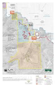 Wenatchee Washington Map by Wenatchee Foothills Trail Master Plan Scj Alliance