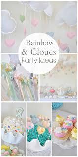 rainbow clouds craft birthday rainbow clouds birthday