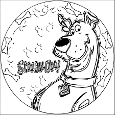 scooby doo coloring pages wecoloringpage