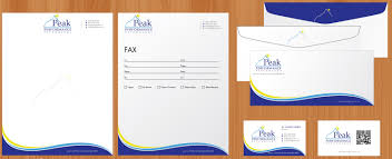Letterheads And Business Cards by Modern Professional Business Card Design For Peak Performance