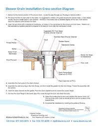 lre240304 rhone river series linear shower drain 24 inch