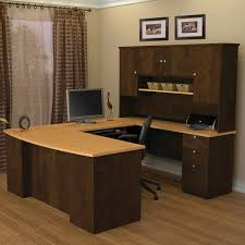 office desk l shaped with hutch merritt u shape desk with hutch