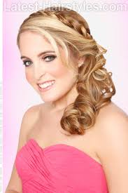how to curl loose curls on a side ethnic hair 30 curly updos for curly hair see these cute ideas for 2018