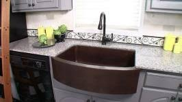 unique kitchen sink materials diy