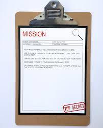 top secret report template secret birthday invitations ideas