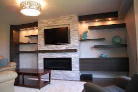 Wood Area Rug Brick Wall For Living Room Fireplace Black Painted Wood Coffee