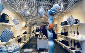 store interior design bottletop and ai build use sustainable materials to 3d print store