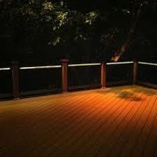 corona recessed led riser light by aurora deck lighting deck