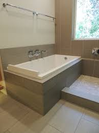 bathtubs amazing drop in bathtub installation pictures drop in