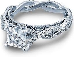verragio wedding rings verragio twist shank engagement ring afn 5031