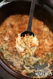 crockpot green bean casserole family fresh meals